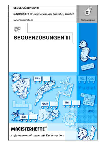 S7 Sequenzübungen III