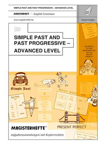 E9 Simple Past and Past Progressive – Advanced Level