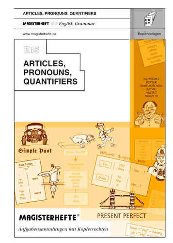 E15 Articles, Pronouns and Quantifiers